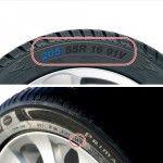 Cómo leer la información en el neumático