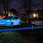 Nissan LEAF, el coche que brilla en la oscuridad
