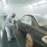 Defectos de pintura en el pintado de automóviles