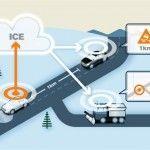 Los Volvo informarán del estado de la carretera por red móvil