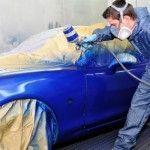 Diferencia de tonalidad al pintar el coche