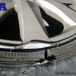 La compañía de seguros solo me paga un neumático