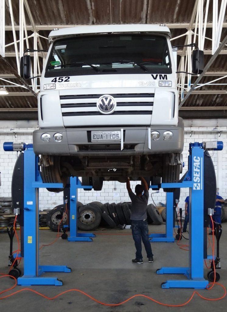 Elevadores para vehículos pesados